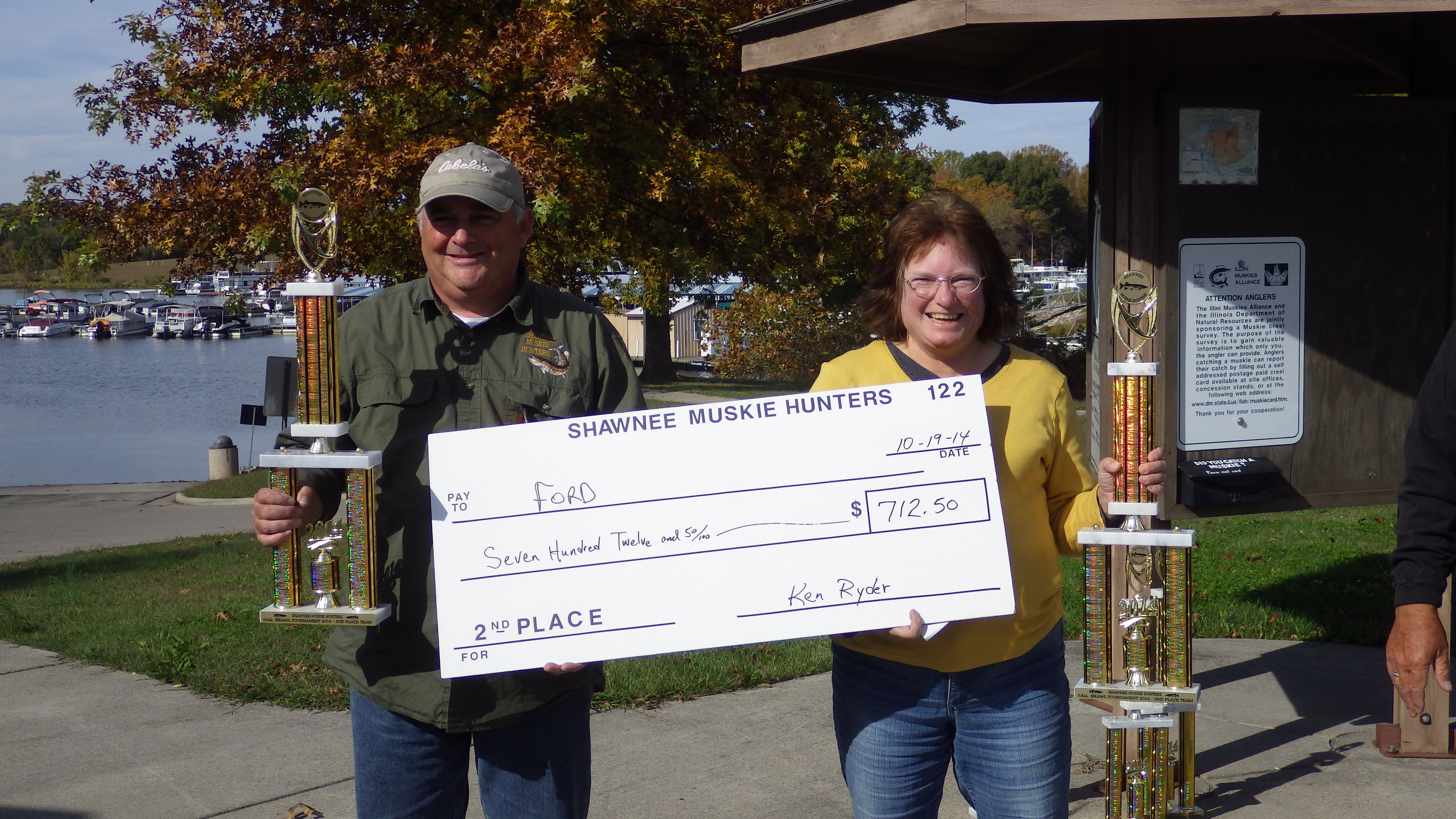 2014 fall tournament for Nd game and fish stocking report